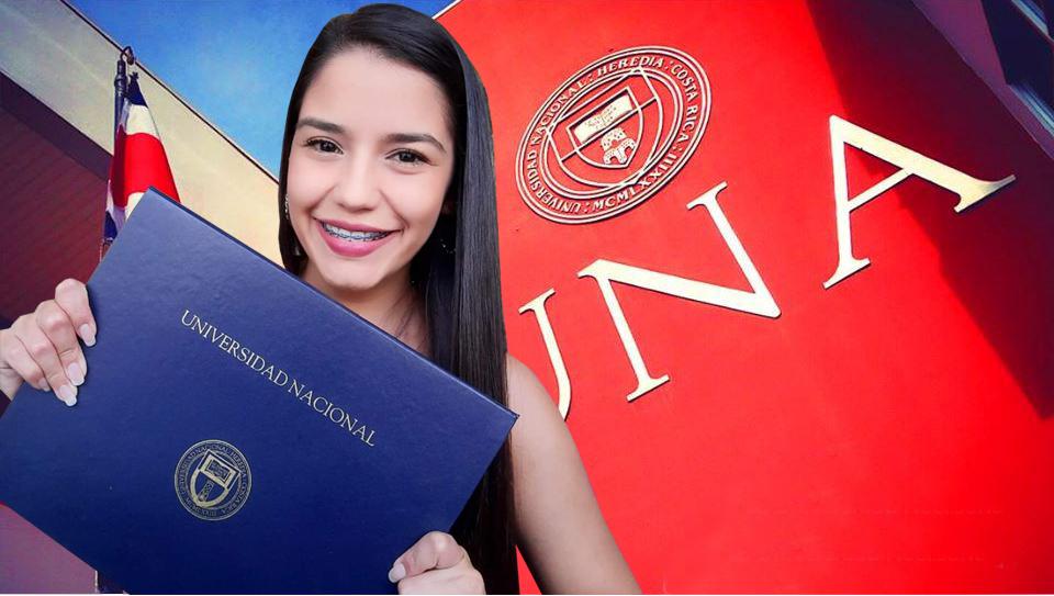Ceremonia de graduación virtual  para profesionales con sello UNA