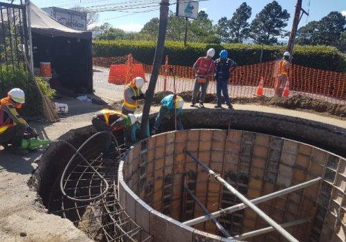 San José renueva su sistema de alcantarillado sanitario