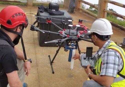 Mediante drones investigadores de la UNA analizan lagos cratéricos