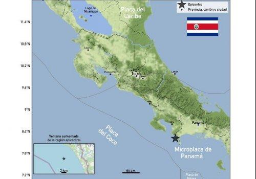 Reporte de sismicidad en la zona Sur