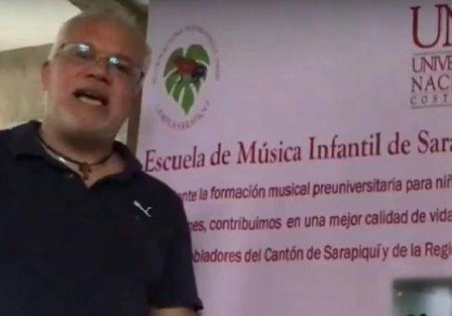 Con música infantes de Sarapiquí ahuyentan la pandemia