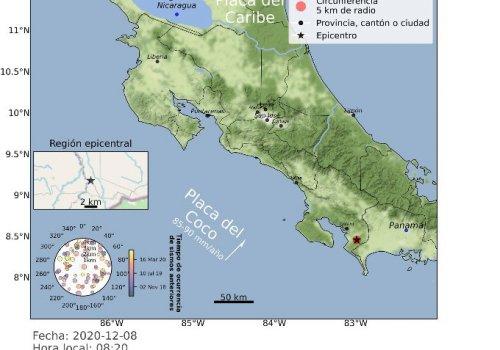 Más 22 temblores asociados a sismicidad del Sur