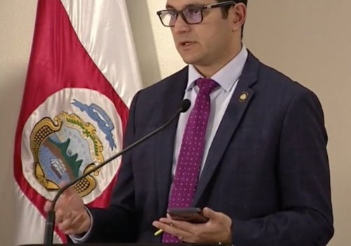Daniel Salas egresado de Epidemiología de la UNA
