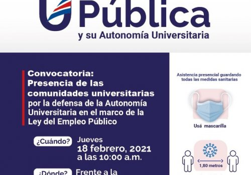 Llamado a la defensa de la Universidad Pública