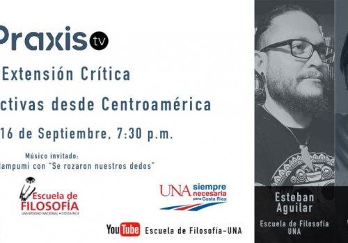 Tercera emisión de Praxis TV – UNA Extensión Crítica