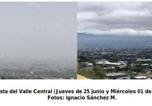 Impacto de los polvos del Sahara en la calidad del aire