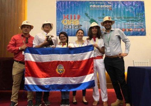 Costa Rica premiada en Olimpiadas de Biología y Química