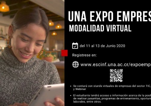 UNA-Expo-Empresa será virtual