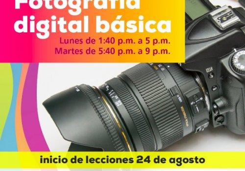 Aprenda fotografía digital en la UNA