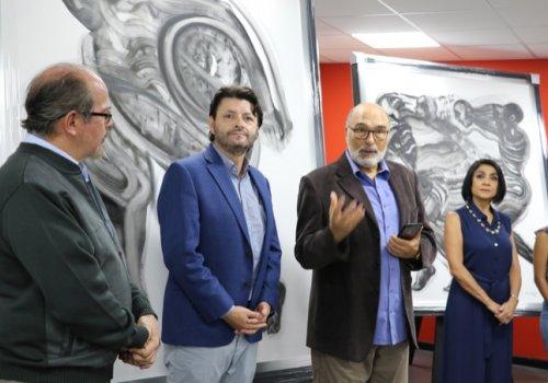 UNA exhibirá obras de artista sello UNA