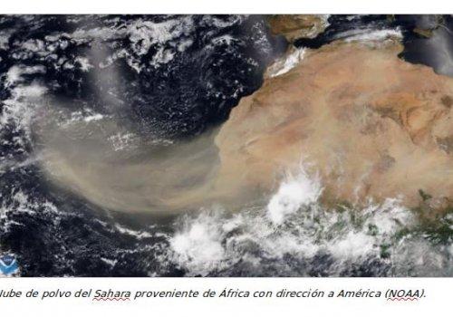 Científicos costarricenses logran determinar tamaño y composición de partículas del polvo del Sahara que llegan al país