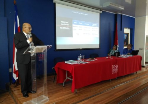 Rectoría presentó informe de rendición de cuentas