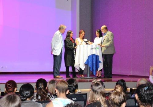 Filatelia costarricense rinde homenaje a tres mujeres destacadas en las ciencias y el arte
