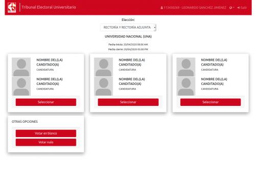 UNA arranca pilotaje de votación electrónica no presencial