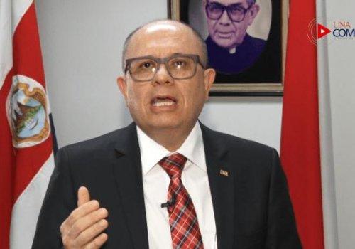 Rector UNA asegura que ajustes presupuestarios no afectarán becas estudiantiles