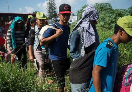 Covid-19 no frenará migración de centroamericanos al norte