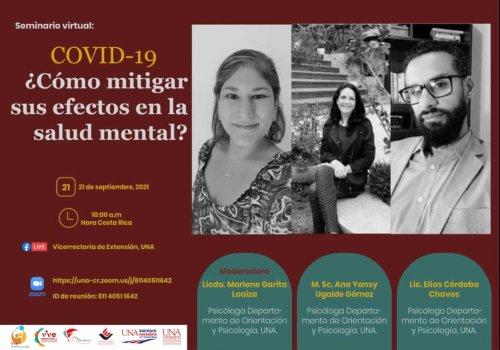 ¿Cómo mitigar los efectos del Covid-19 en la salud mental?