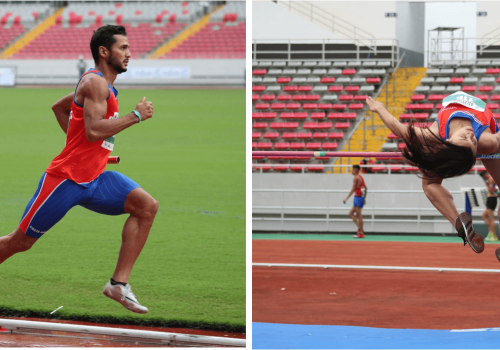 Deportistas UNA brillan en Campeonato Centroamericano de Atletismo