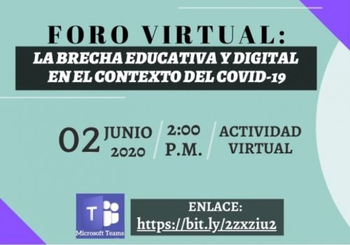 Covid-19 evidencia brecha educativa y digital