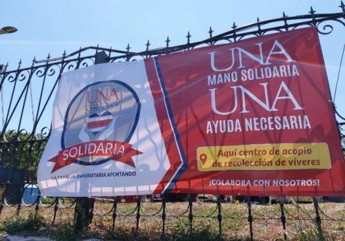 """UNA lanza campaña """"UNA Costa Rica Solidaria"""""""