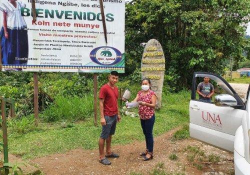 UNA lleva conectividad a estudiantes en comunidades rurales e indígenas