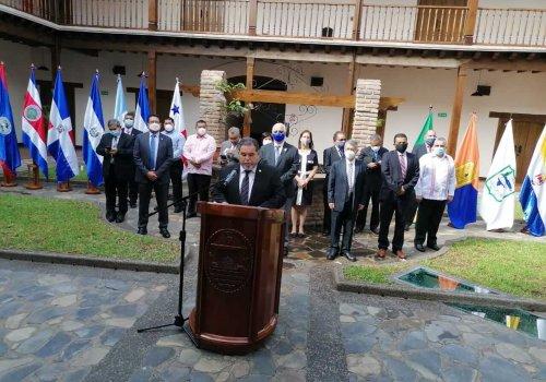 Rectores del istmo inauguran IX Congreso Universitario Centroamericano CSUCA Honduras 2021
