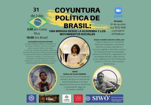 Coyuntura política de Brasil en la mira académica y social
