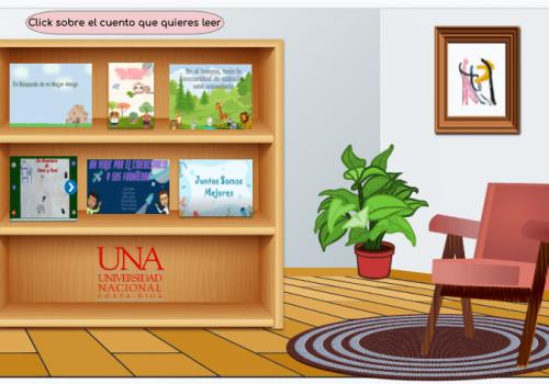 Estudiantes de la UNA elaboran cuentos digitales para promover la lectura en niños y niñas