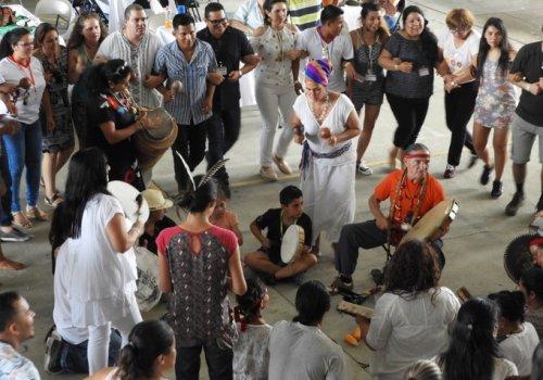 Ceremonia ancestral abrió Encuentro de Etnomatemática
