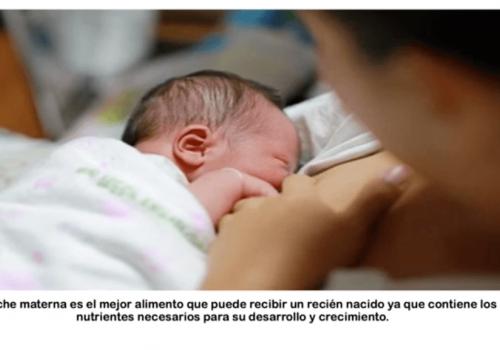 Los beneficios de la lactancia materna en Salud al aire