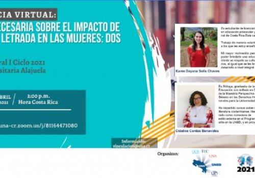 Sede Interuniversitaria dedica lección inaugural a la mujer