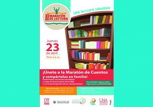 Maratón de lectura virtual en el Día del Libro
