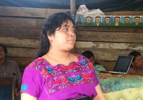 Homenaje a la mujer indígena