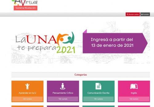 UNA lanza estrategia de nivelación para estudiantes que ingresen en 2021