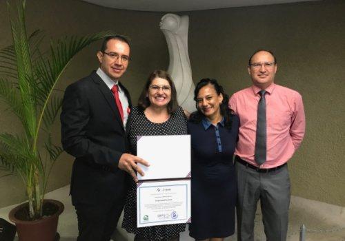 Sede Chorotega recibe reconocimiento a la excelencia ambiental