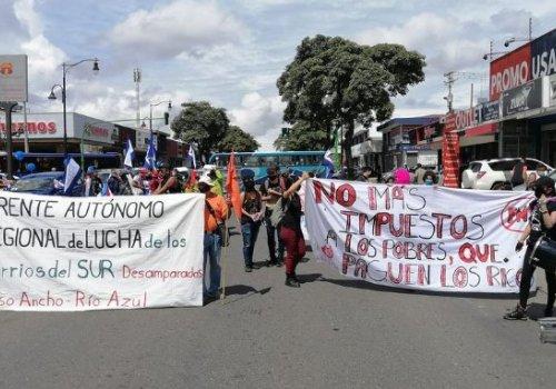 Protestas sociales: descontento acumulado