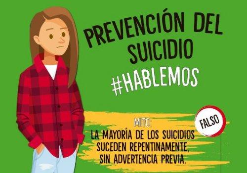 Suicidio adolescente: mitos y realidades