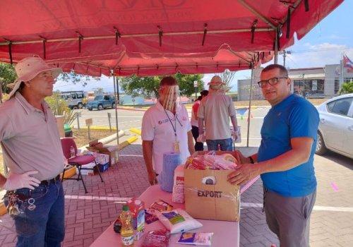Arranca segunda fase de recolección de víveres de UNA Costa Rica Solidaria