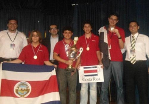 Costa Rica gana olimpiada de matemática