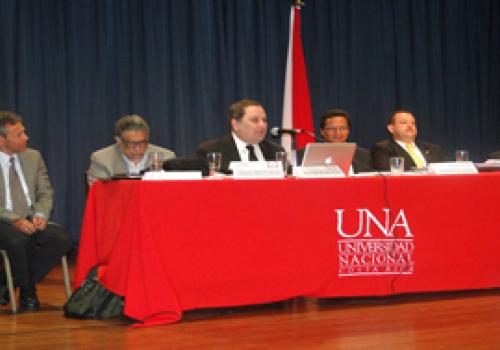 UNA abre diálogo sobre reforma fiscal