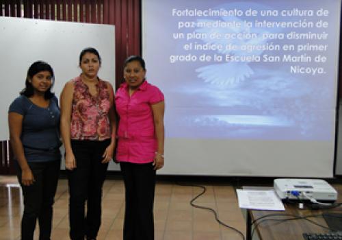 Promueven cultura de paz en Nicoya