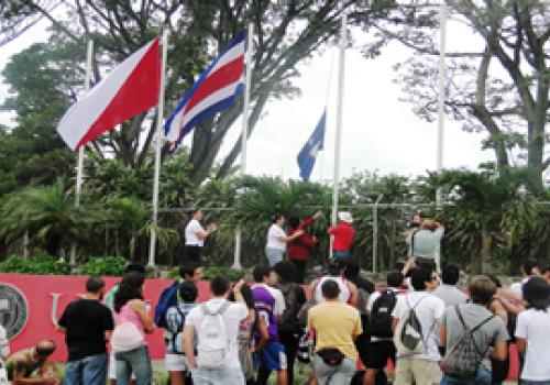 Bandera Azul Ecológica ondea en Campus Núñez