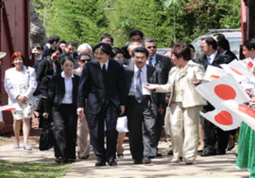 Visita imperial fortalece cooperación Japón-UNA