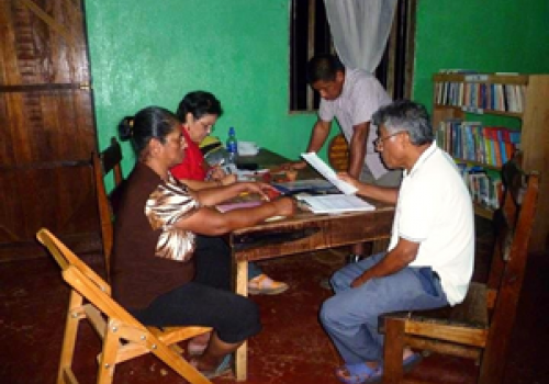Primera biblioteca en territorio indígena
